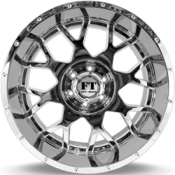 Full Throttle FT-0151 Sniper Chrome Wheels