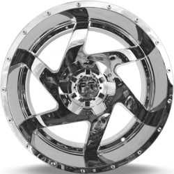 Full Throttle FT-6052 Dagger Chrome Wheels