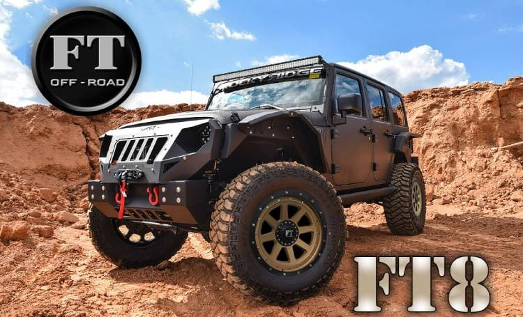 Full Throttle FT8 Off-Road Wheels
