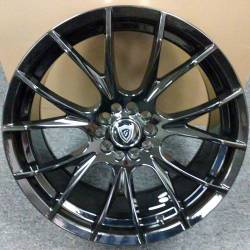 G-Line G7016 Gloss Black Wheels