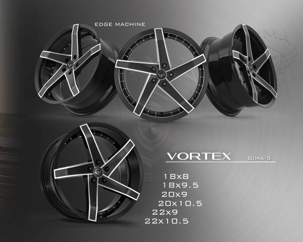 Gima-3 Vortex Wheels