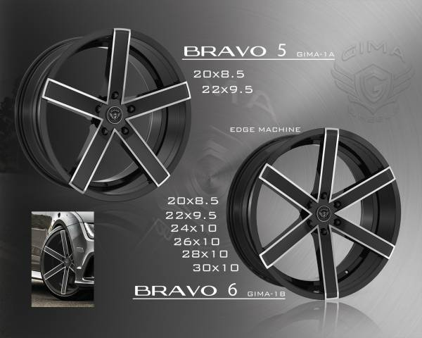 Gima Bravo Wheels