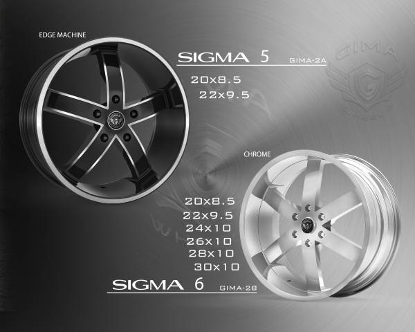 Gima Sigma Wheels