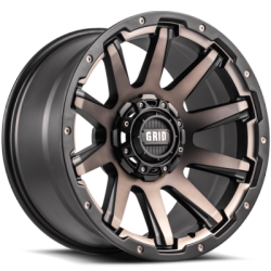 Grid Off-Road GD5 Bronze Wheels