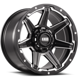 Grid Off-Road GD6 Gloss Black Wheels