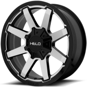 Helo HE909 Machine Black Wheels