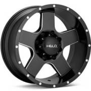 Helo HE886 Black Milled Wheels