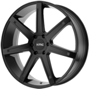 KMC KM700 Satin Black Wheels