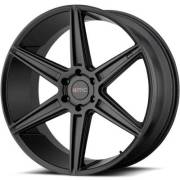 KMC KM712 Satin Black Wheels