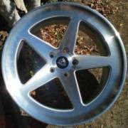 Marquee 9535 Machine Silver Wheels