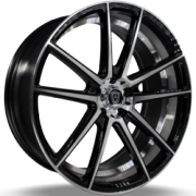 Marquee 3197 Black Machined Wheels