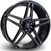 Marquee 3764 Black Milled Wheels