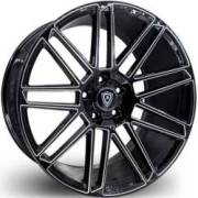 Marquee 3767 Black Milled Wheels