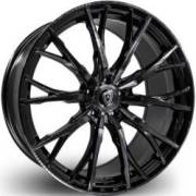 Marquee M4409 Black Smoke Wheels