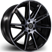 Marquee 4617 Black Smoke Wheels