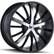 Mazzi 364 Essence Machine Black Wheels