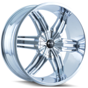 Mazzi 792 Rush Chrome Wheels