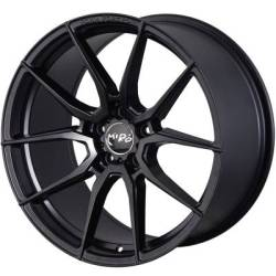 Miro F25 Matte Black Wheels