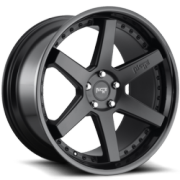 Niche M192 Altair Satin Black -Gloss Black Wheels