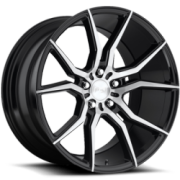 Niche M166 Ascari Black Brushed Wheels