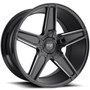 Niche M180 Cannes Gloss Black Milled Wheels