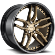 Niche M195 Methos Bronze and Black Wheels