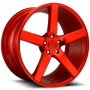 Niche M187 Milan Candy Red Wheels