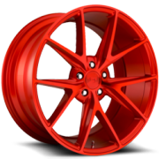 Niche M186 Misano Candy Red Wheels