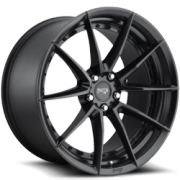 Niche M196 Sector Satin Black Wheels