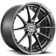 Niche M197 Sector Gloss Anthracite Wheels