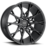 Niche M183 Staccato Satin Black Wheels