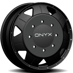 Onyx FD 00 Black Dually Wheel Front
