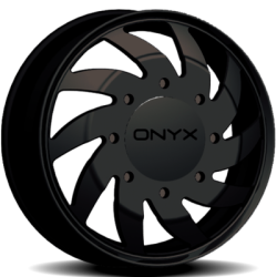 Onyx FD 25 Black Dually Wheel Front
