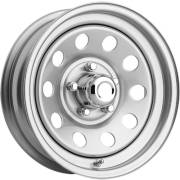 Pacer 229S Silver Modular Wheels