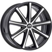 Pacer 789MB Evolve Machined Black Wheels