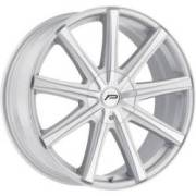 Pacer 789MS Evolve Silver Machined Wheels