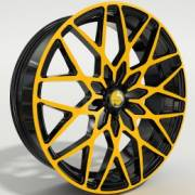 Pente Forseti Yellow and Black Wheels