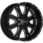 Pro Comp Series 5182 Matte Black Machined