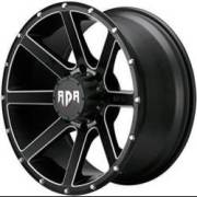 RDR RD08 Krawler Black Machined Wheels