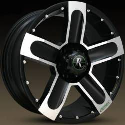Remington High-Country Satin Black Machined Wheels