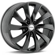 Rial Lugano Gunmetal Wheels