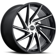 RSR R701 Black Machined Wheels