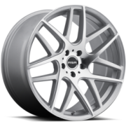 RSR R702 Silver Machined Wheels