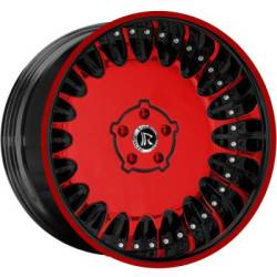 Rucci Milidario Red Wheels