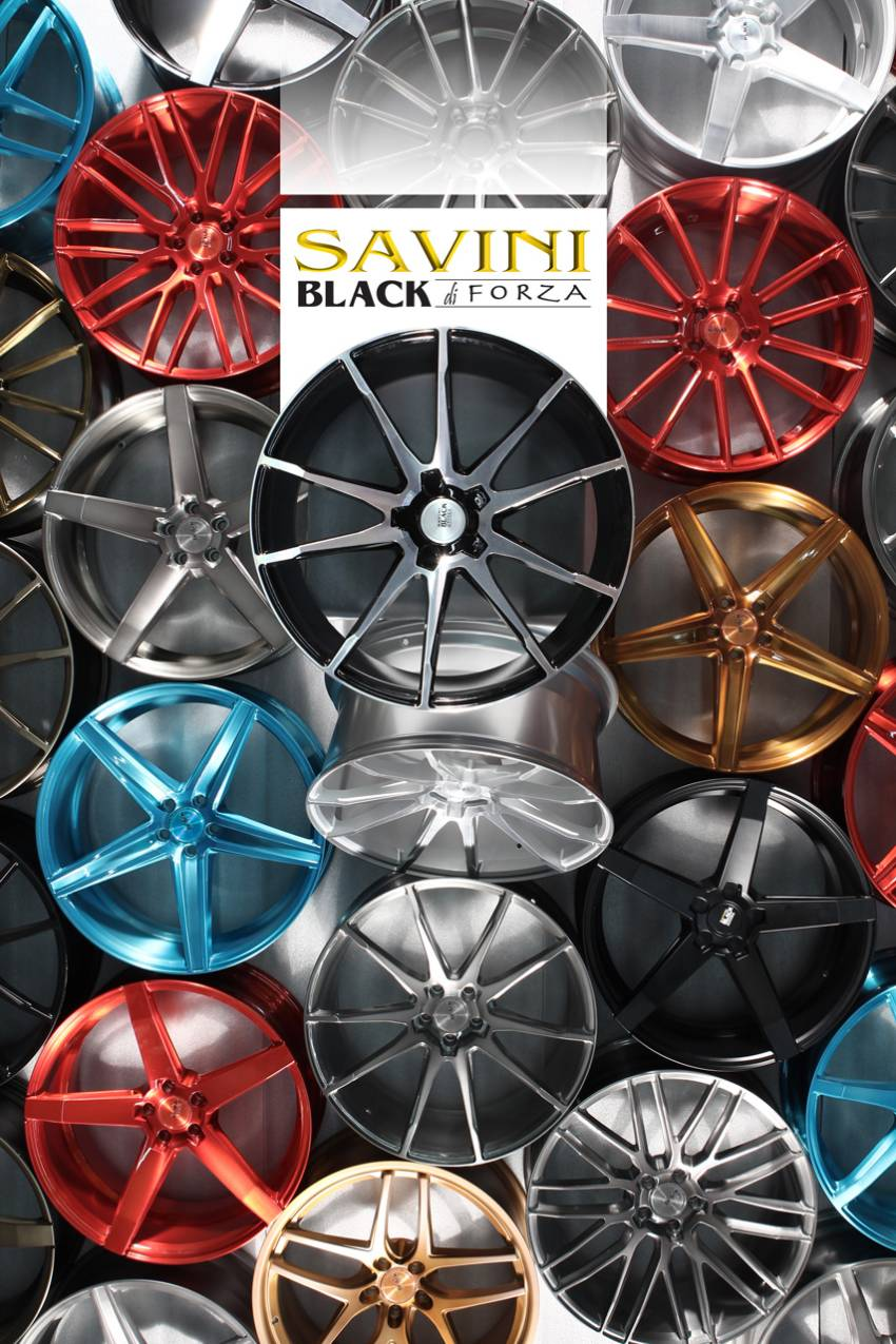 Savini Black de Forza Wheels