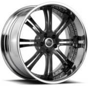 Savini Forged SV27-S Black, Grey & Chrome Wheels