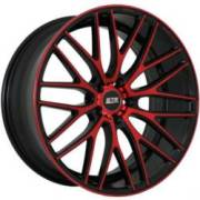 STR 615 Black and Red Wheels