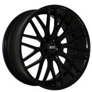 STR 615 Gloss Black Wheels