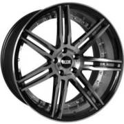 STR 619 Machine Black Wheels