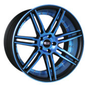 STR 619 Neon Blue Wheels